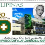 PHLPost Releases Dagupan Doctors Villaflor Memorial Hospital 50th Anniversary Stamps