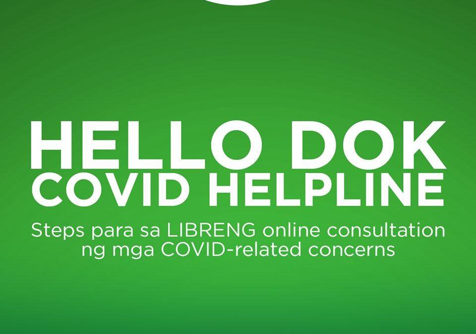Hello Dok: COVID Helpline