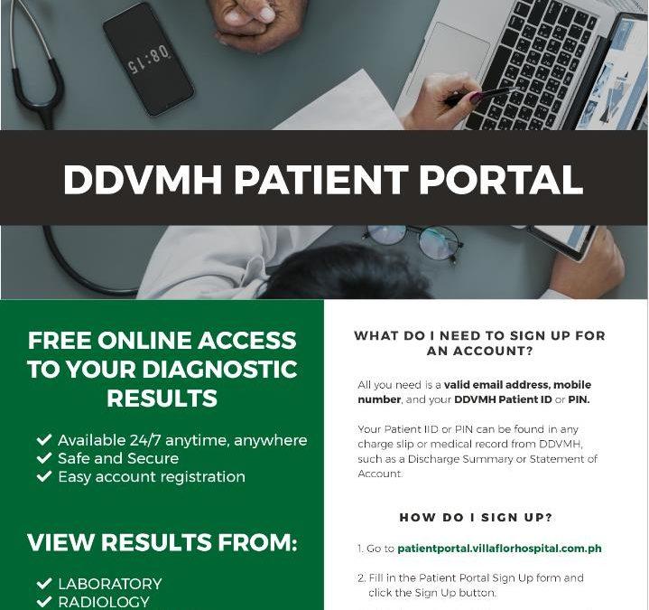 DDVMH PATIENT PORTAL