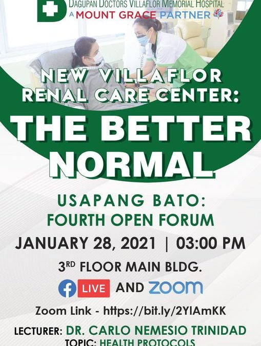 THE BETTER NORMAL USAPANG BATO (FOURTH OPEN FORUM)